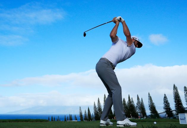 Johnson holds two-shot lead at Sentry TOC