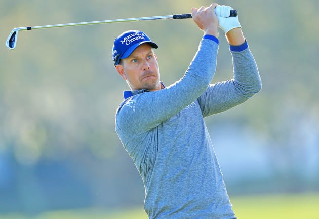 Stenson tied at the top
