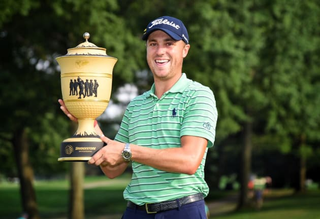 Thomas takes home WGC-Bridgestone Invitational title