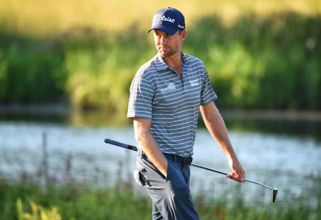 Simpson takes lead on final hole at Dell Technologies