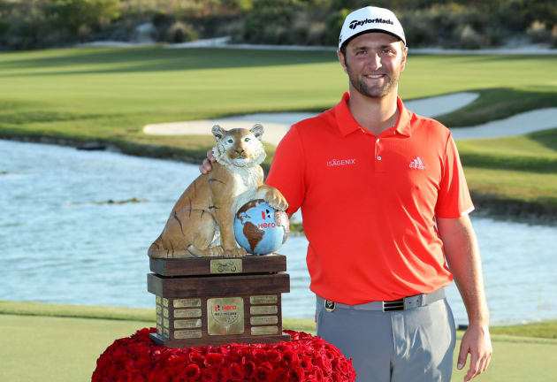 Rahm wins by four at Hero World Challenge
