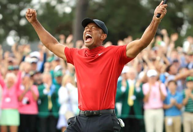 Tiger makes his major comeback