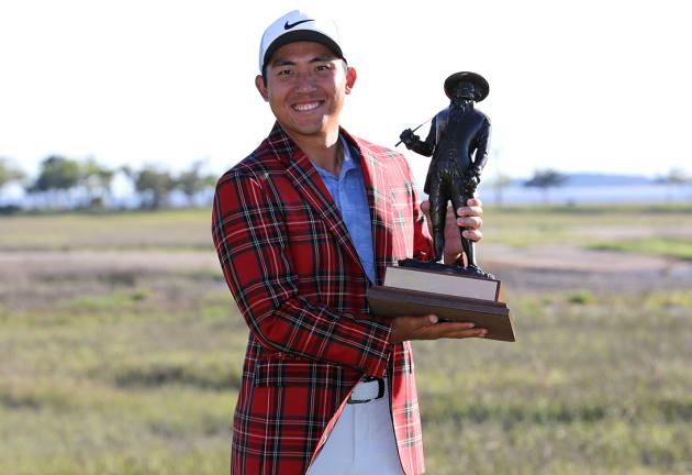 Pan wins RBC Heritage, earns first TOUR victory