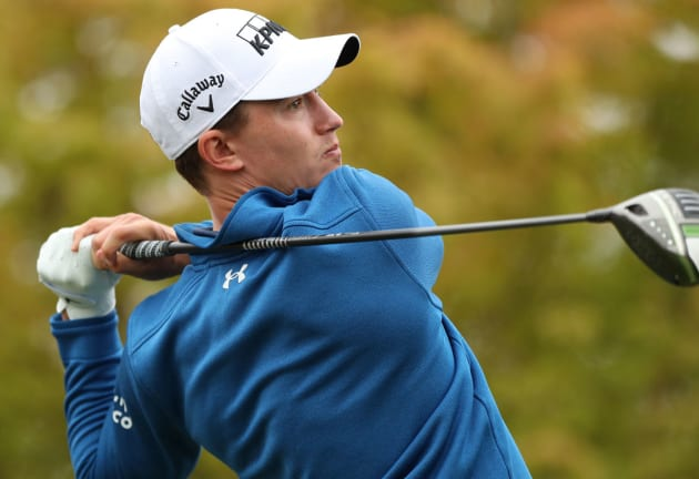 McNealy leads by two shots at Fortinet Championship