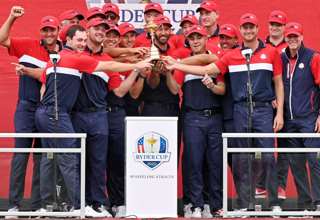 U.S. wins Ryder Cup in dominant fashion