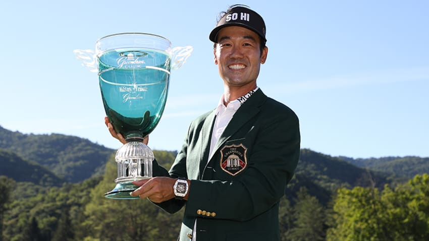 Defending champion Kevin Na