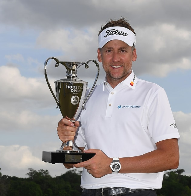 Poulter wins Houston Open on first playoff hole