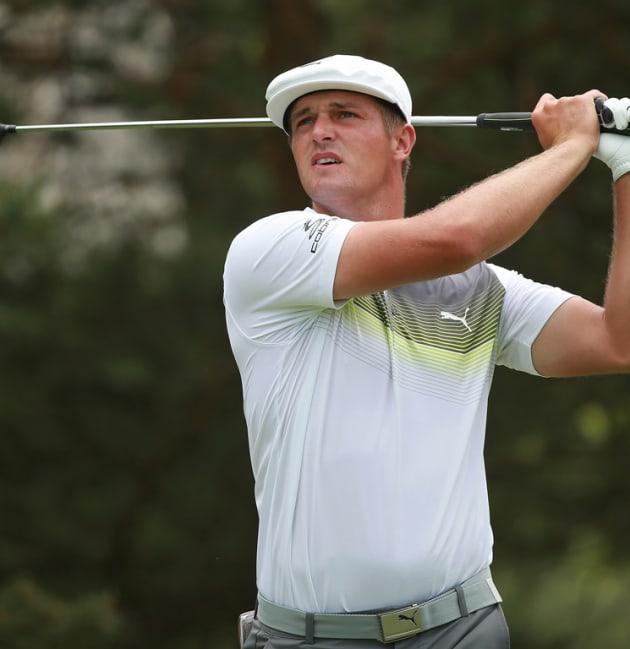 DeChambeau claims 54-hole lead