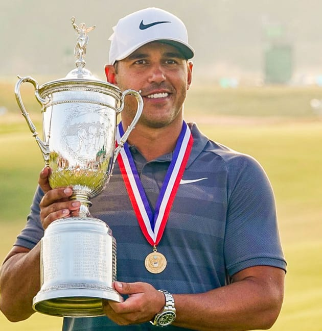 Koepka goes back-to-back at U.S. Open