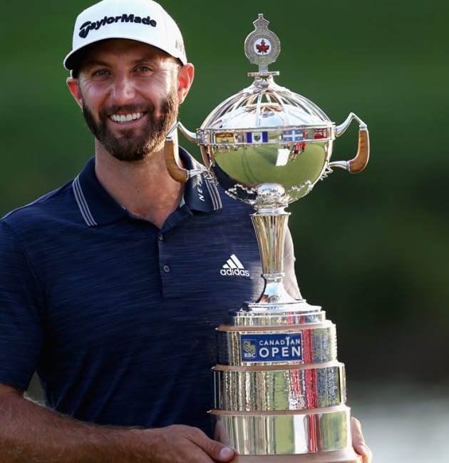 D. Johnson closes out 19th TOUR title at RBC Canadian Open