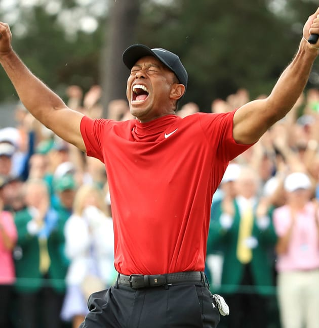 Tiger wins the Masters for fifth time