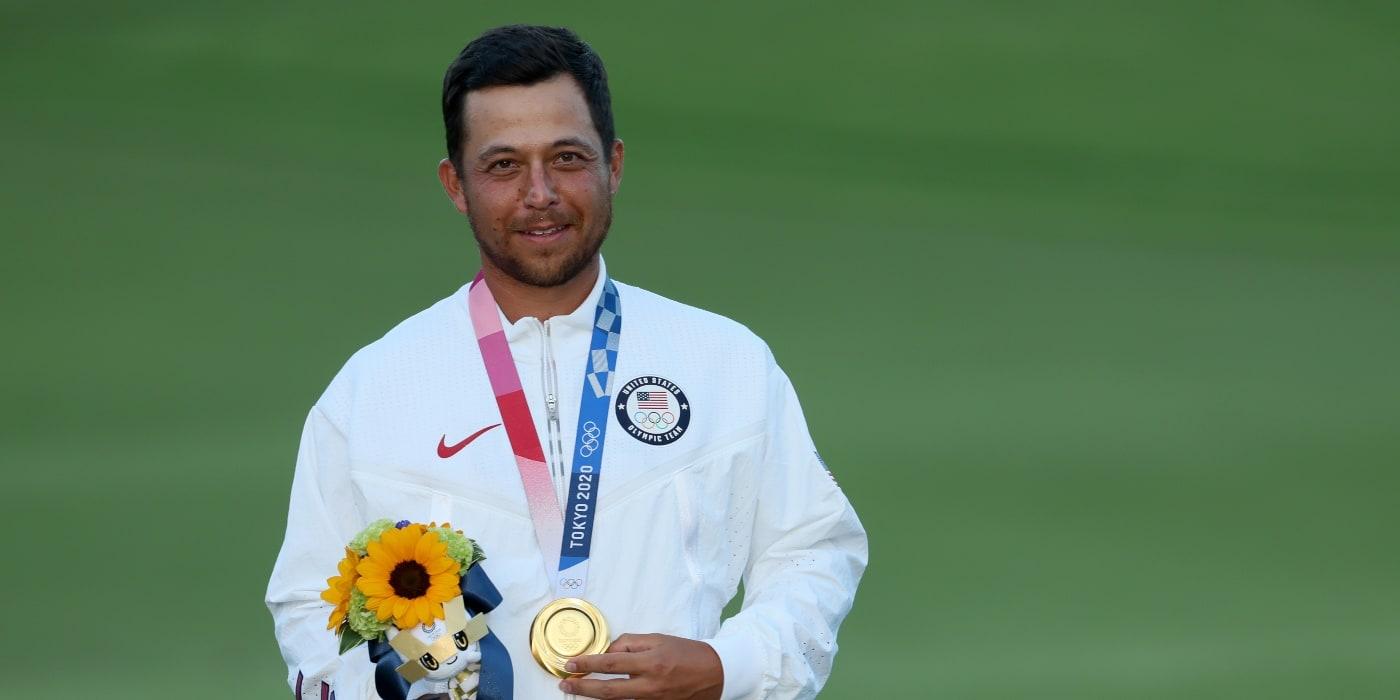 Gold medalist Xander Schauffele