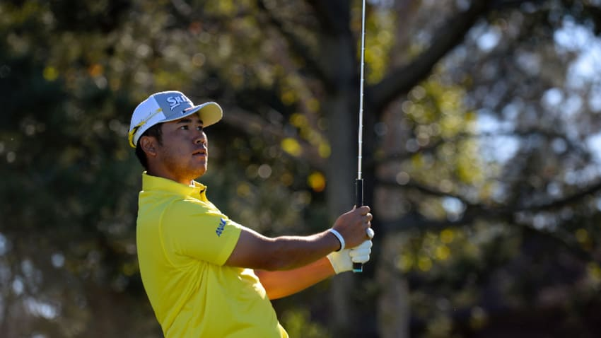Matsuyama fired his second consecutive 66 on Friday. (Robert Laberge/Getty Images)
