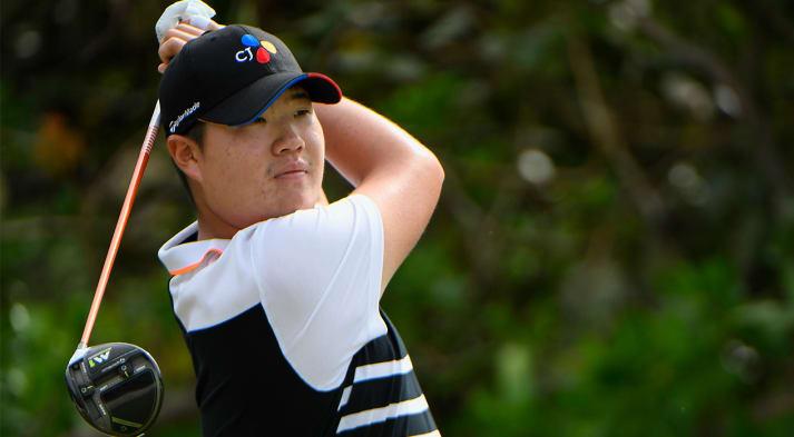 Sungjae Im wins his first Web.com Tour start at The Bahamas Great Exuma Classic. (Ryan Young/PGA TOUR)