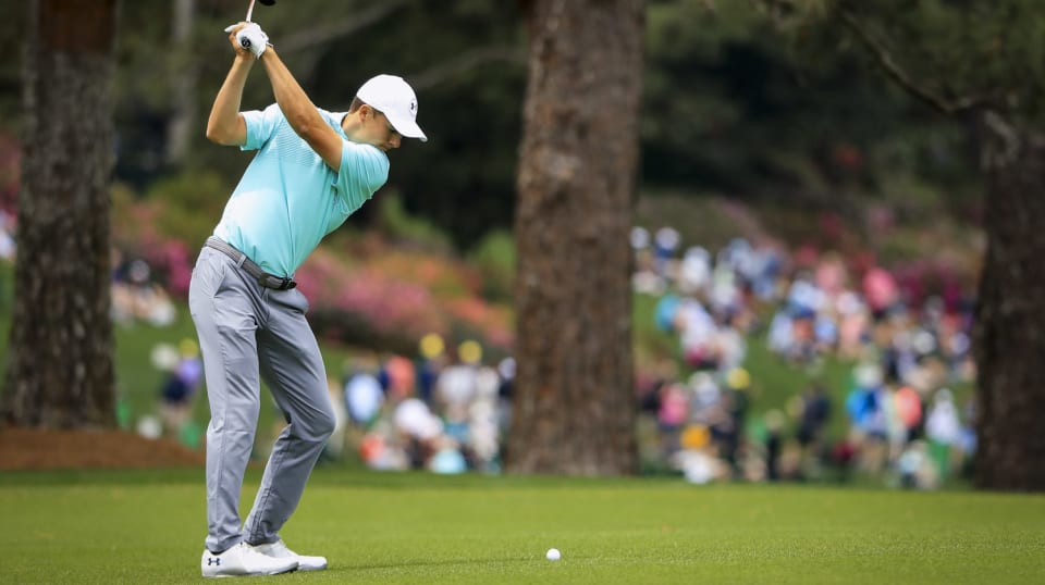 masters tournament  second round  leaderboard  tee times