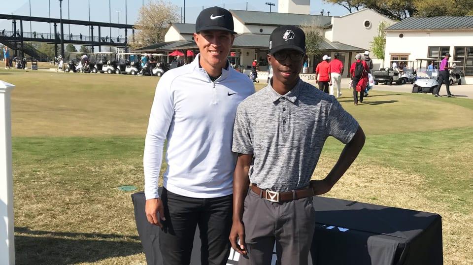 Junior golfer shares his Mack Champ Invitational story