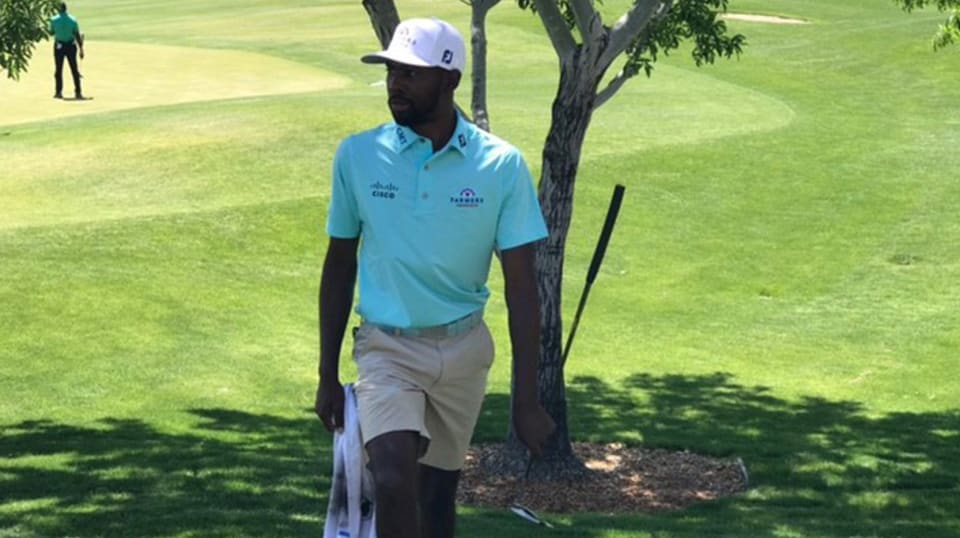 Kamaiu Johnson overcomes wind, tops field at APGA Tour Las Vegas TPC course