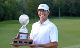 Kramer Hickok remporte l'Ontario Championship au club de golf National Pines, sa deuxième victoire cette saison sur le Mackenzie Tour