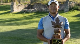 Yi Cao wins Canada Life Series Points List