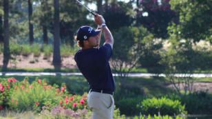 Late surge gives Chanaud 18-hole lead at The Home Course