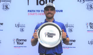 Saunders prevails in playoff to win inaugural Forme Tour event