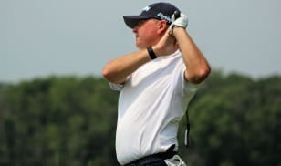Sattler, Harrison tied for top spot at Purdue; second-round suspended