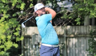 Harrison shoots 67, takes three-shot lead into final round at Purdue