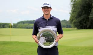 Pettit clinches first win as a pro, takes title at Purdue