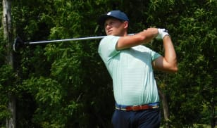 Musselman leads as play suspended at The Fuzzy Zoeller Classic