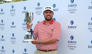 Kent Bulle ganador del Zurich Argentina Swing