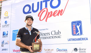 Curtis Yonke claims Quito Open trophy, leads Bupa Challenge
