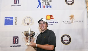Rookie Gallegos wins Puerto Plata DR Open in only seventh professional start