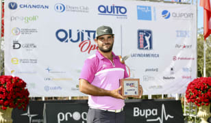 Leon storms from behind to win Quito Open