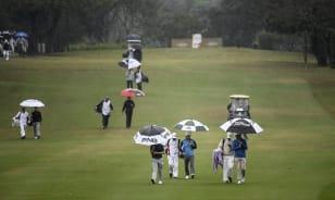 La lluvia fue la protagonista este viernes en São Paulo