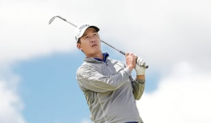Lee looks for national open win, shares 36-hole lead with Newcomb