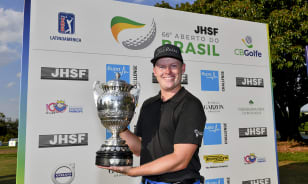 Tuten rallies to win in Brazil for his first PGA TOUR Latinoamérica title
