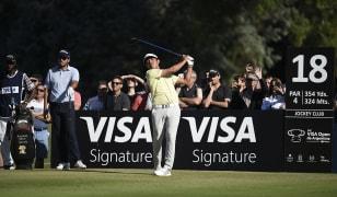 Núñez joga 63 tacadas e é o novo líder do VISA Open de Argentina