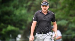 Anger fires Poulter to lead at WGC-Bridgestone Invitational