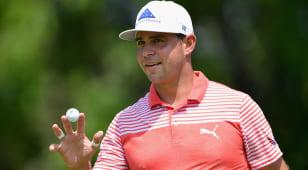 Woodland's bounce-back season continues at PGA Championship
