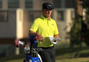 DeChambeau fires up late to join lead at Shriners Hospitals for Children Open