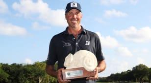 Kuchar breaks win drought at Mayakoba Golf Classic