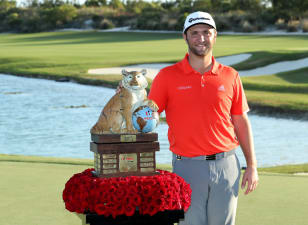 Rahm fittingly ends year with win at Hero World Challenge