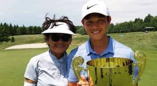 Lorens Chan and mom sharing special season