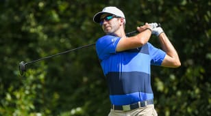 Baker ties course record to take first-round lead at Korn Ferry Tour Championship