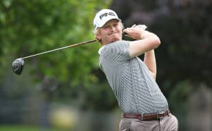 Carlson matches course record with 60, takes Canada Life Championship Lead