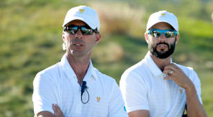 Presidents Cup provides bonding experience for Hadwin, Weir