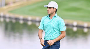 Ancer shoots course record to finish second at The American Express