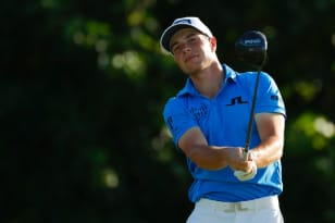 Hovland, Stanley, Teater, Grillo share lead at Puerto Rico Open