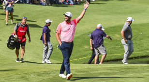 Rahm breaks course record at WGC-Mexico Championship