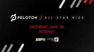 Rory, JT, Bubba in Peloton All-Star Ride